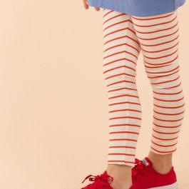 條紋leggings