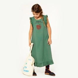 Cow Dress 小蘋果長版洋裝