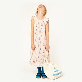 Cow Dress 夏日沁涼長版洋裝