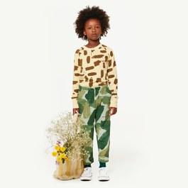 Rhino 叢林綠迷彩薄棉長褲