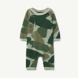 Baby 綠迷彩造型連身衣