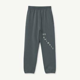 刷色灰衛衣運動褲(寬鬆版型)