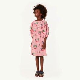 Swallow 粉色公主蓬袖洋裝