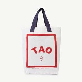 TAO Logo 棉質托特包
