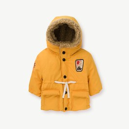 Calf 黃色厚鋪棉外套