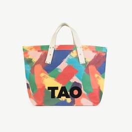 TAO Logo 筆刷大容量托特包