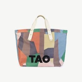 TAO Logo 幾何造型大容量托特包