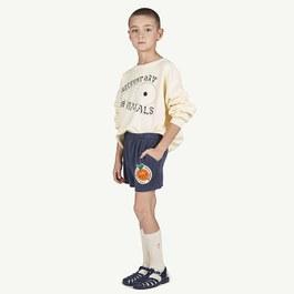 Poodle 小橘子毛巾料運動短褲