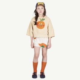 Squab小橘子薄款衛衣(寬短版)