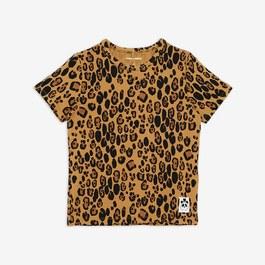 豹紋天絲棉上衣