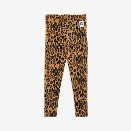 豹紋天絲棉leggings