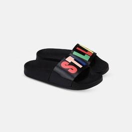 Rosanna Stella Logo 大人仿皮革涼鞋