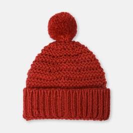 Sparky 球球混羊毛針織帽