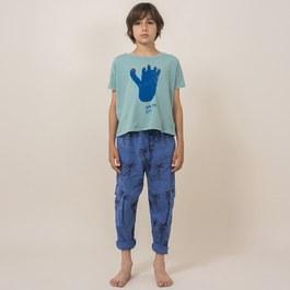 腳印有機棉上衣 (版型偏大)