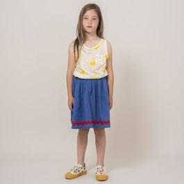 小太陽口袋中長裙 (版型偏大)