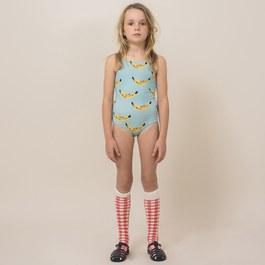 香蕉造型連身泳衣