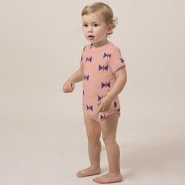 Baby 蝴蝶造型毛巾料連身衣