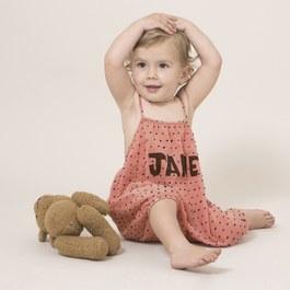 Baby Jane 點點細肩連身衣(版型偏大)