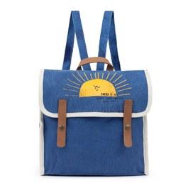 小太陽帆布後背包
