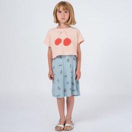 櫻桃笑臉針織短版罩衫
