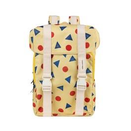 幾何造型後背書包