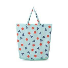 幾何收納型購物袋