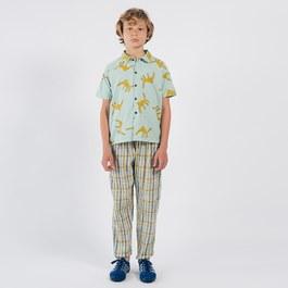 花豹短袖襯衫(版型偏大)