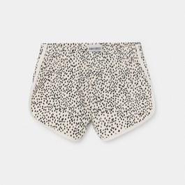 豹紋運動小短褲