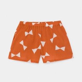 蝴蝶結縐棉小短褲