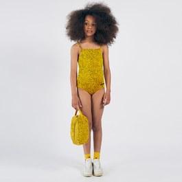 黃色豹紋泳裝