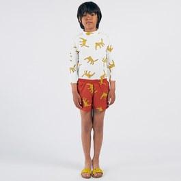 花豹造型泳褲