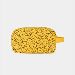 黃色豹紋手拿小包