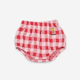 Baby格紋針織超軟棉小褲褲