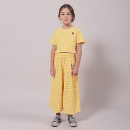 刺繡羅紋針織短版上衣