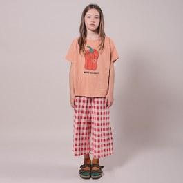 格紋針織超軟棉寬褲(版型偏大)