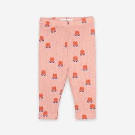 Baby 花朵羅紋legging(建議拿大一號)
