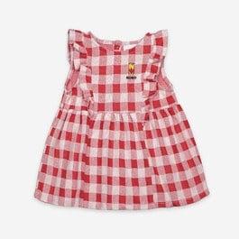Baby格紋針織超軟棉洋裝(版型偏大)
