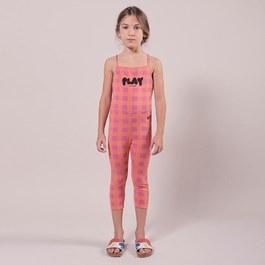 Play 格紋七分泳褲legging