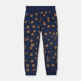 嗡嗡嗡蜜蜂薄款衛褲