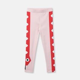貪食蛇運動彈性leggings