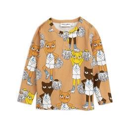 貓咪啦啦隊有機棉上衣