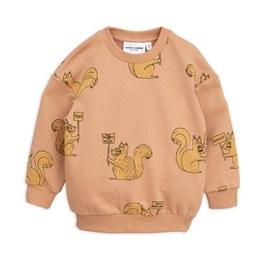 松鼠造型有機棉衛衣