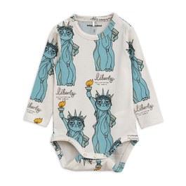 Baby 貓咪自由女神天絲棉連身衣