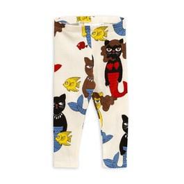 貓咪美人魚天絲棉leggings