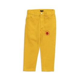 小太陽斜紋長褲