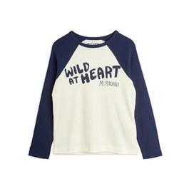 Wild at Heart 有機薄棉棒球Tee