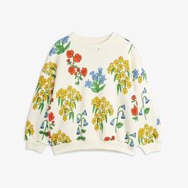 花朵微刷毛衛衣
