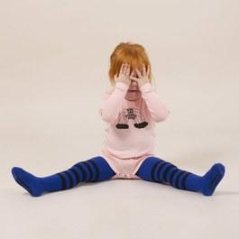 Baby 彩虹羅紋連身衣