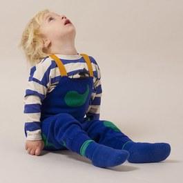 Baby 水滴人造絲針織吊帶褲