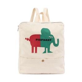 Pigphant兩用帆布背包